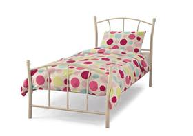 Penny bed frame / white